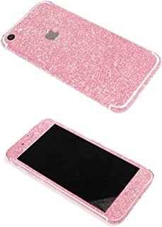 iPhone 7 Bling Skin Sticker, Supstar Full Body Coverage Glitter Vinyl Decal - Dustproof, Anti-Scratch for Apple iPhone 7 (Rose)