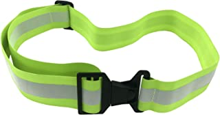 High Visibility Reflective Belt, Army PT Belt. Reflective Running Gear for Men and Women for Night Running Cycling Walking. Military Safety Reflector Strips