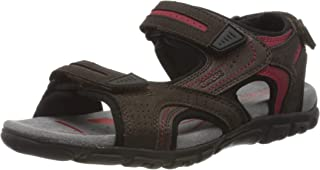 Geox Uomo Strada D, Sandales Bout Ouvert Homme