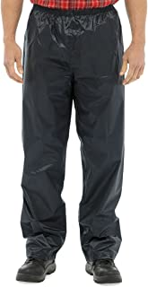 Raiken Men's Waterproof Over Trousers Motorcycle Hicking Windproof Rain Pants Size