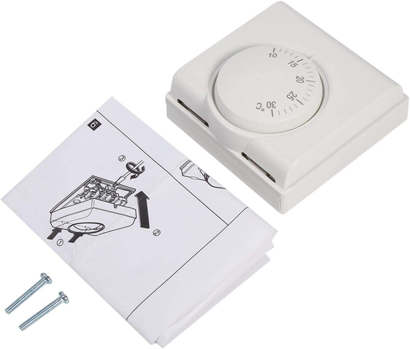 Mechanical Thermostat,220V Room Mechanical Temperature Controlle