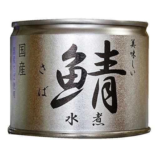 伊藤食品 缶詰 鯖(さば) 水煮 12個