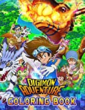 Digimon Adventure Coloring Book: Great Gift For All Fans Of Digimon Adventure. A Way For Relaxation And Stress Relief