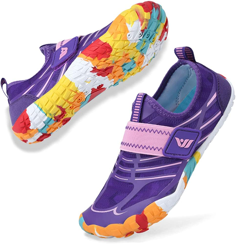Boys Girls Water Shoes Lightweight Max 46% OFF A Comfort Easy Max 85% OFF Walking Sole