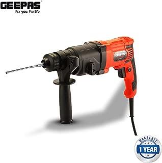 Geepas Rotary Hammer/800W/1050Rpm/4700Bpm1X2