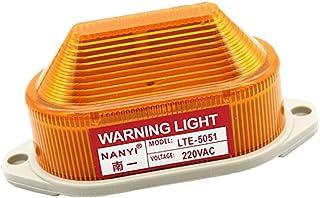 FLAMEER 1 stuks waarschuwingsknipperlicht LED zwaailicht flitslicht signaallamp voor veiligheid AC 220V waterdicht