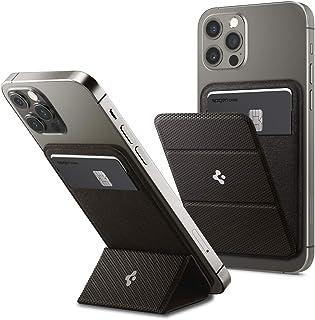 Spigen Smart Fold Magnetic Wallet Card Holder Designed for MagSafe Compatible with iPhone 12 Mini/iPhone 12 / iPhone 12 PR...