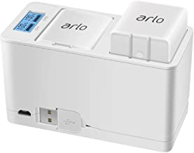 Feirsh Battery Charger Station for Arlo, Dual Rechargeable Batteries Charging Station..