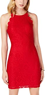 BCX Womens Lace Sleeveless Cocktail Dress