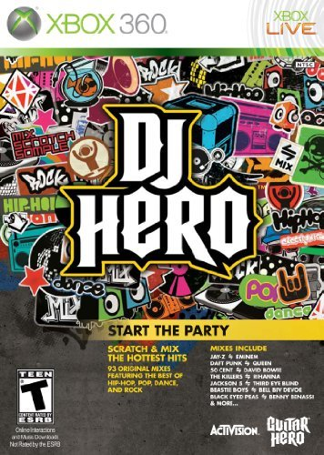 DJ Hero Stand Alone Software -Xbox 360 by Activision