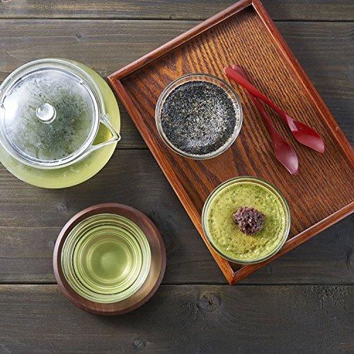 【セット買い】HARIO(ハリオ)茶茶急須丸450ml&耐熱湯呑み5客セット