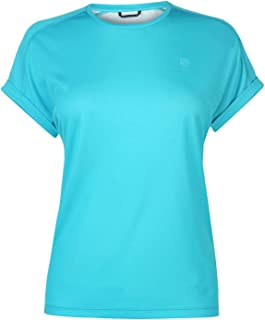 """Karrimor Womens Aspen Turn T Shirt Ladies"""",カリマー レディース トレーニングウェア ランニングウェア マラソン 半袖Tシャツ 速乾性 通気性 軽量"""