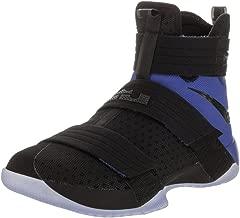 Nike Lebron Soldier 10 SFG Men Basketball Shoes New Black Game Royal - 11