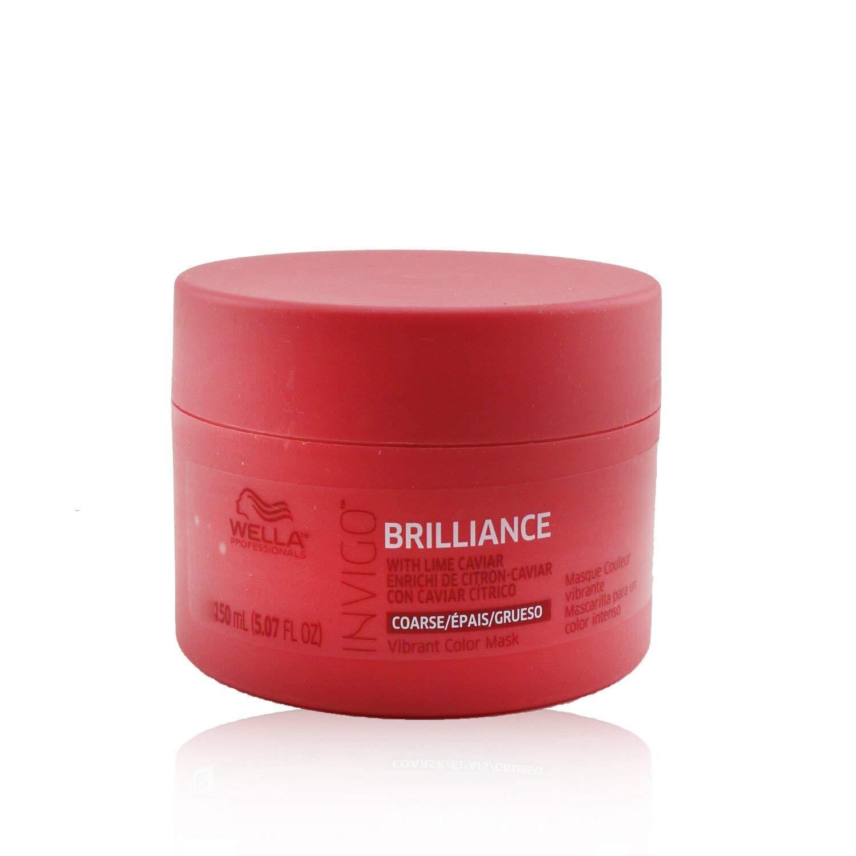 Wella Invigo Brilliance Mask for Excellence Ranking TOP13 Coarse 5.0 - Hair By Unisex