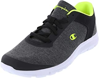 31170a5d56a30c Champion Grey Jersey Lime Men s Gusto Performance Cross Trainer 8.5 Regular