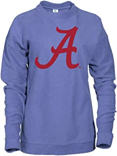 Official NCAA Alabama Roll Crimson Tide Herrington Fleece Crew Neck Sweatshirt