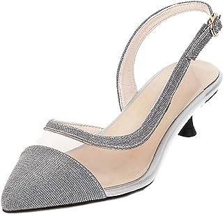 Zanpa Women Sweet Summer Shoes Kitten Heels