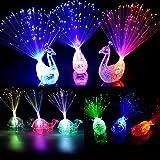 Dsaren Lumières de Doigt 16 Pcs LED Créatif Coloré Clignotant Flashing Articles de Fête pour Concert, Anniversaire, Mariage et Festival