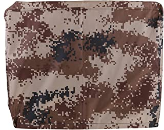 Flameer Desert Camouflage Waterproof Oxford Fabric Outboard Motor Hood Boat Cover, Universal & Trailerable
