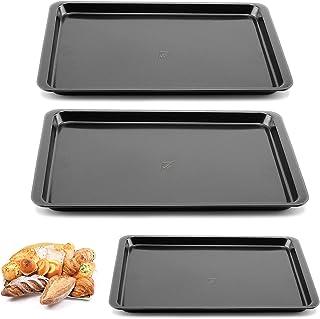 Plaque à Rôtir - Plat à four - Plaque A Pâtisserie - Plaque de Cuisson Antiadhésive en Acier au Carbone sans BPA pour Four...