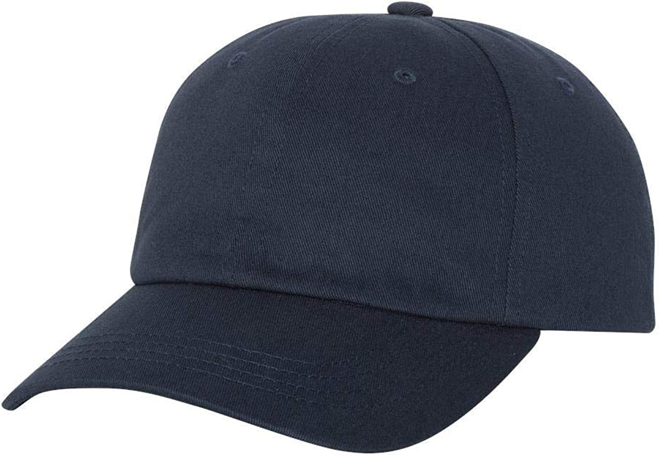 Yupoong Boys Unstructured Classic Dad's Cap