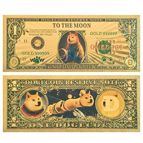 ドージコイン 紙幣 お札 柴犬 仮想通貨 dogecoin