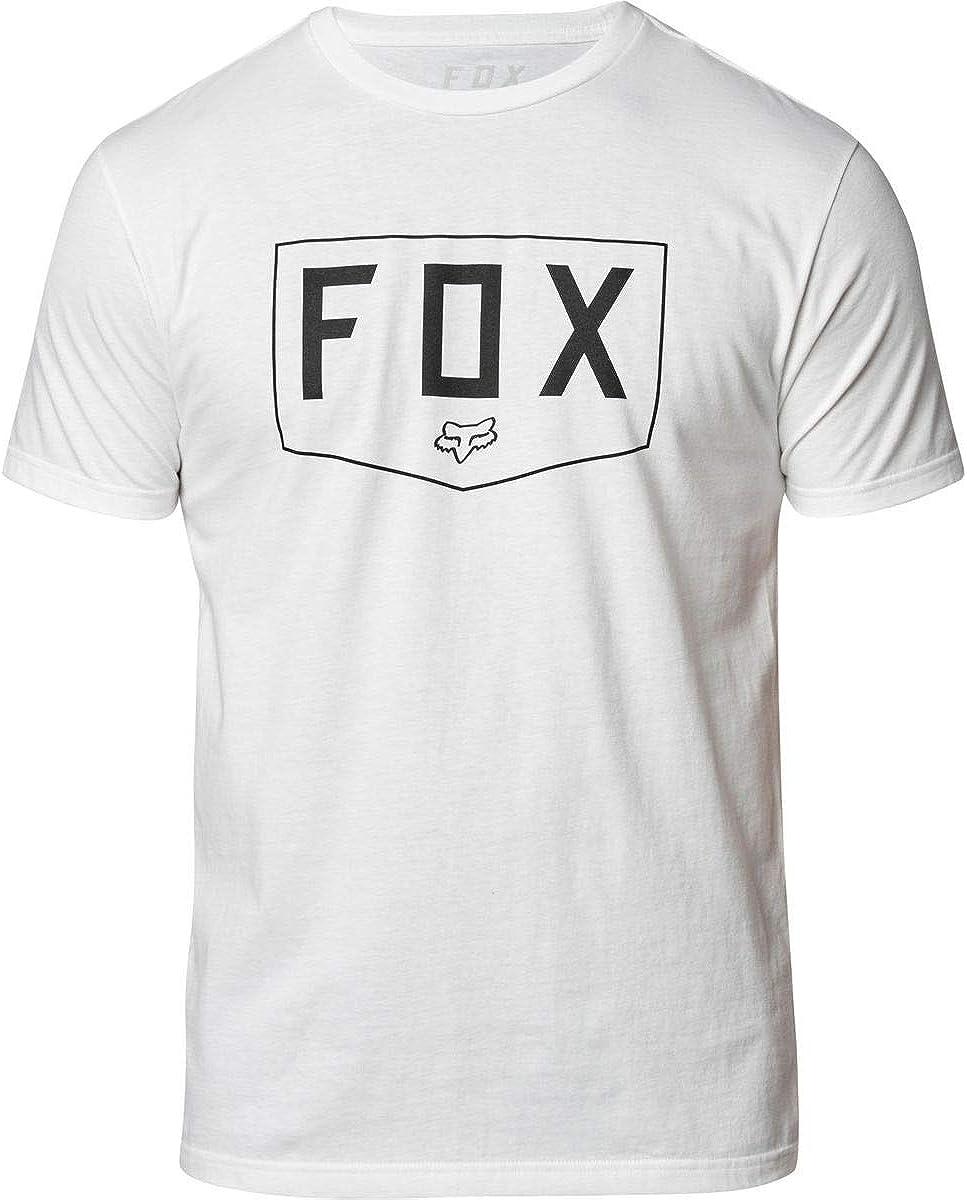 Fox Racing Mens Shield Premium Shirts, 2X-Large, Optic White, XX-Large