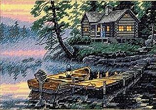 Dimensions Gezählter Kreuzstick Set, Morning Lake