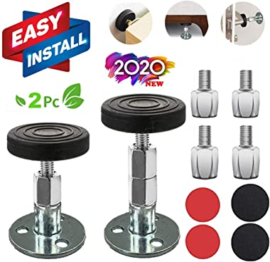 Bed Frame Anti-Shake Tool Easy Use Premium Support Tool for Beds Cabinets Chairs Sofas 1.22-3.78 in 2PCS Adjustable Threaded Anti-Shake Fixer Free Extra Extension Screws Headboard Stoppers