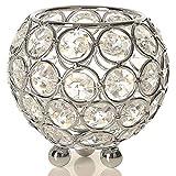 VINCIGANT Linternas Candelabros Decorativas de Portavelas Cristal Ideal para Bodas, Aromaterapia, Ocasiones Especiales, Decoración navideña