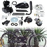 Ridgeyard 80CC 26' 28'gaz motorisé Kit moteur 2 temps moteur vélo Bicycle Engine Motor Kit