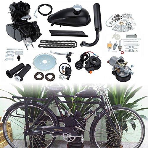 "Ridgeyard 80CC 26"" 28""gaz motorisé Kit moteur 2 temps moteur vélo Bicycle Engine Motor Kit"