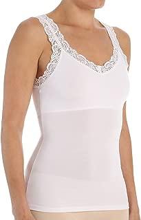 Lace Camisole with Shelf Bra (383LU) M/L/White