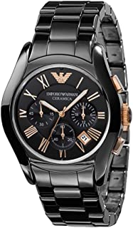 Emporio Armani Gents Wrist Watch, Black AR1410