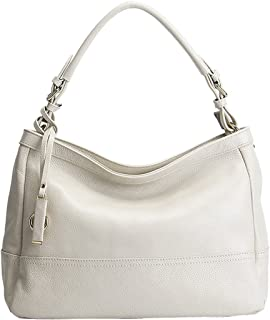 Heshe Womens Leather Handbags Shoulder Bag Top Handle Bag Tote Work Cross Body Satchel Ladies Purse
