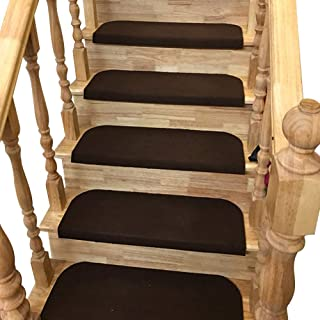 Y-Step 15 PCS Alfombrillas Antideslizantes Escalera Peldañ