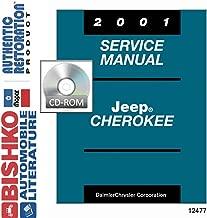 bishko automotive literature 2001 Jeep Cherokee Shop Service Repair Manual CD Engine Drivetrain Electrical