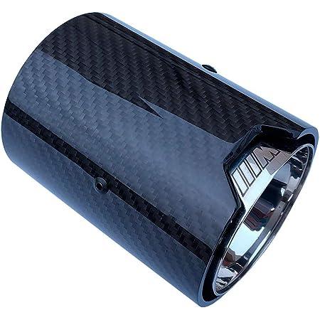 AniFM 1 ST/ÜCKE Carbon Auspuff 70 MM Einlass 92 MM Auslass Auto Auspuffrohre f/ür BMW M Leistung auspuffrohr M2 F87 M3 F80 M4 F82 F83 M5 F10 M6 F12 F13,Inlet60mm