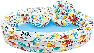 Intex 59469NP - Piscina, flotador y pelota de 51 cm, 132 x