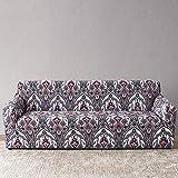 Funda de sofá a Cuadros Funda elástica Fundas de sofá para Sala de Estar Esquina sofá Toalla Funda de sofá Protector de Muebles A16 3 plazas
