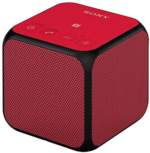 Sony SRS-X11 - Altavoz inalámbrico portátil Compacto de 10W (Bluetooth/NFC), Rojo