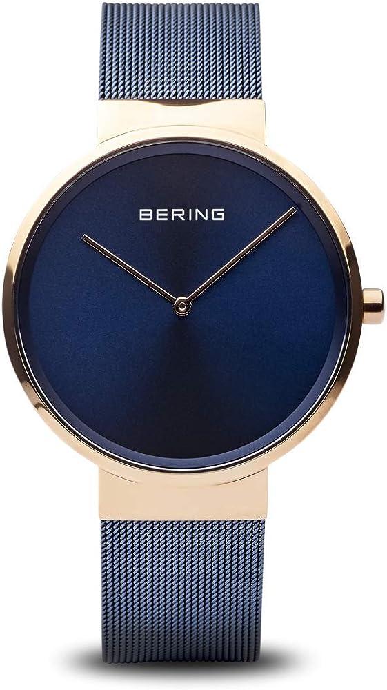 Bering orologio analogico con cinturino in acciaio inox 14539-367