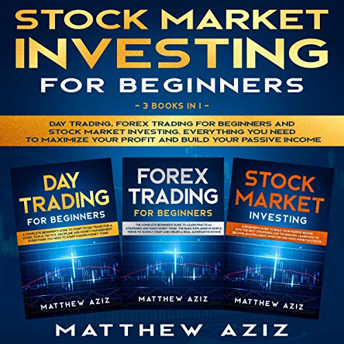 Stock Market Investing for Beginners: 3 Books in 1  By  cover art