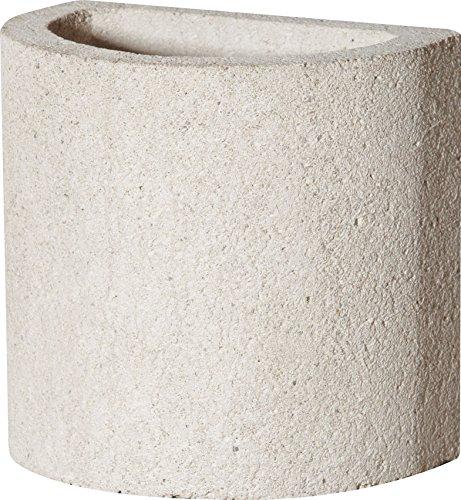 Buschbeck Grill Zubehör, Kaminaufsatz für Gartengrillkamin Rondo, weiß, 35 x 25 x 34 cm, 90084.000