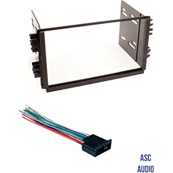 Amazon.com: ASC Audio Car Stereo Radio Dash Kit and Wire Harness for  installing a Double Din Radio for 2001 - 2002 Kia Rio, 2002 Kia Sedona,  1998 - 2001 Kia Sephia, 2000 - 2002 Kia Spectra, 1998-2003 Kia Sportage:  Car ElectronicsAmazon.com