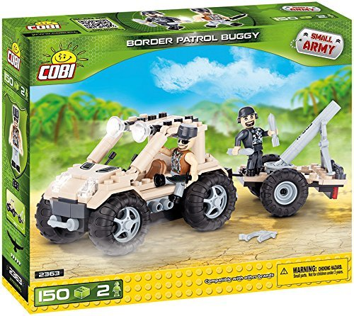 COBI Small Army Border Patrol Buggy Building Kit by COBI