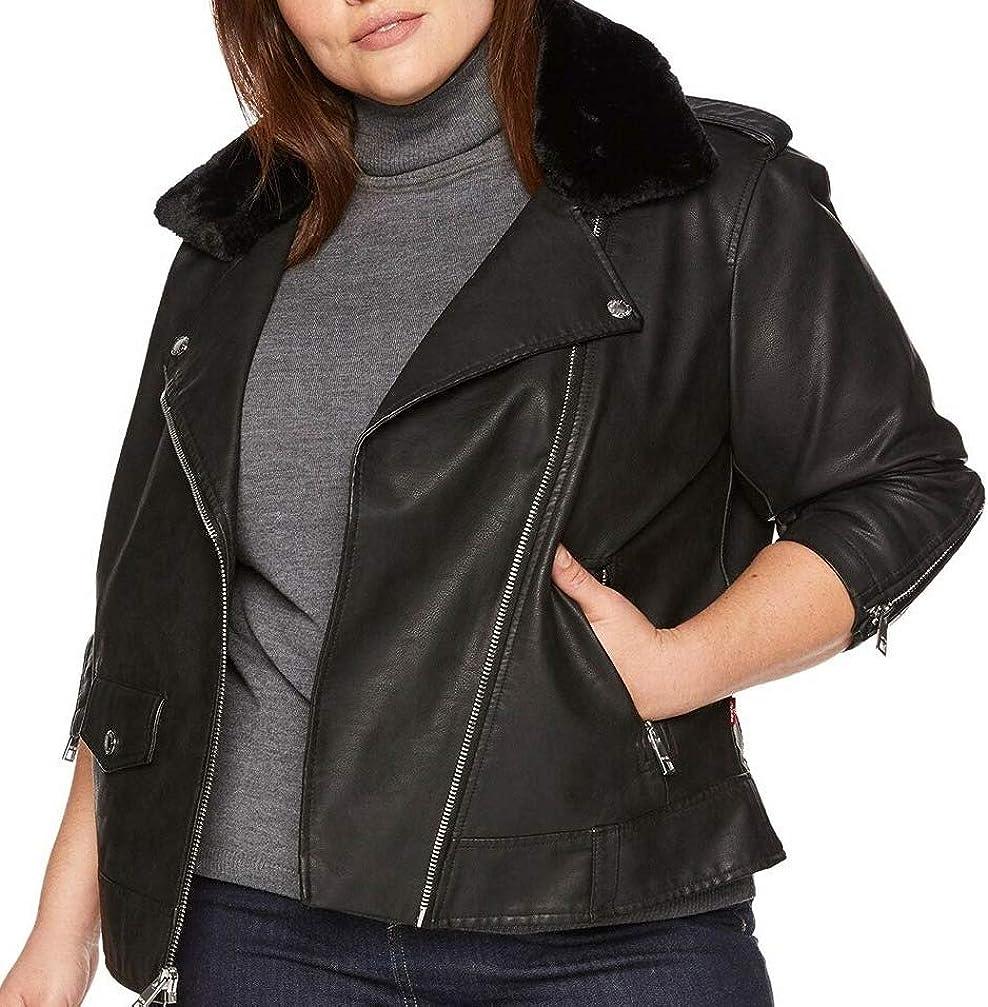 Award Levi's Women's Alternative dealer Faux Leather Jacke Asymmetrical Legacy Motorcycle