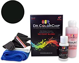 Dr. ColorChip Infiniti G37 Automobile Paint - Black Obsidian KH3 - Road Rash Kit