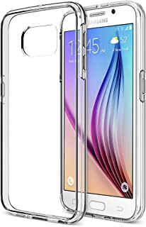 Galaxy S6 Case, Trianium [Clear Cushion] Premium Protective Case for Samsung Galaxy S6 Case Bumper Scratch Resistant Shock-Absorbing Frame and Hard Back Panel - Clear