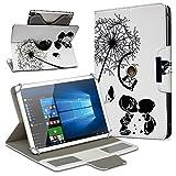 UC-Express Universal Tablet Schutz Hülle 10-10.1 Zoll Tasche Schutzhülle Motiv Case Cover, Motiv:Motiv 10, Tablet Modell für:ARCHOS 101c Platinum